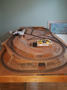 Model Train Track HO Series.