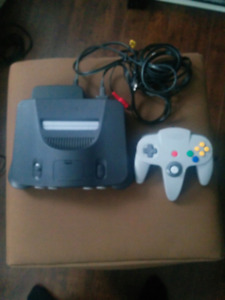 N64 console with first party controller