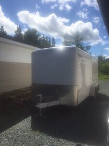 """Top of the line """"Royal"""" enclosed cargo trailer"""