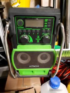 Work radio Hitachi
