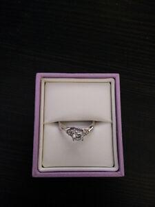 14kt WG Diamond Engagment Ring