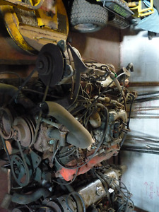 Chevy Big Block Engine, complete with Transmission