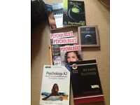 Bundle of Psychology books and mags