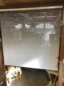 4' x 4' white blinds several available