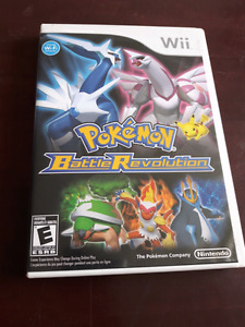Jeu de wii Pokemon Battle Revolution