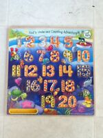 Leap Frog Number Puzzle