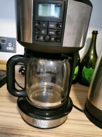 RUSSELL HOBBS BUCKINGHAM CAPPUCINO COFFEE MACHINE-USED - TIMER