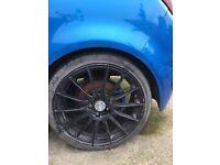 18 inch Corsa 5 stud alloys