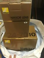 Nikon D810 and lens 24-70mm brand new in box