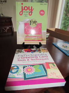 2 Great Greeting Card Making Boook - both brand new.