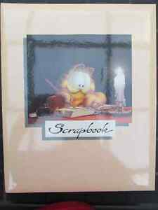 Large Garfield Scrapbook New