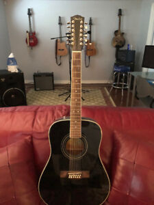 guitare 12 cordes Fender Acoustique