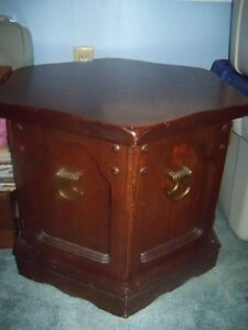 Coffee (1) and End Tables (2), Good Condition, Solid Hardwood,