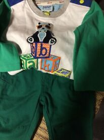 Baby boys ted baker jeans and top