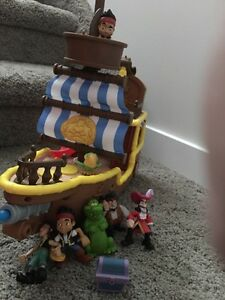 Jake and the Pirates and extra characters.
