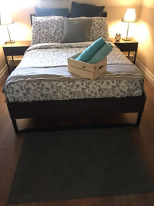 Ikea TRYSIL Full bed, Mattress & other items