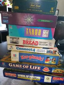 Retro Board game collection (8 games)