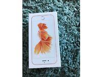 iPhone 6s Rose gold 16GB factory unlocked