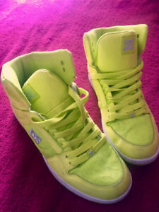 DC Womans Rebound Hightops, gently used.
