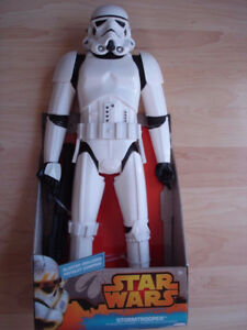 "Brand New Star Wars Jakks Pacific 18"" Stormtrooper Action Figure"