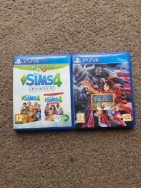 The SIMS4 Bundle, One Piece Pirate Warriors 4 PS4 Games