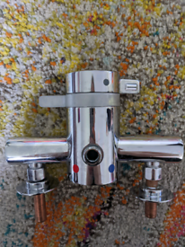 Mira select flex shower mixer