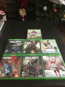 Selling Various Xbox 1 video games