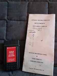 GM code reader. With instructions.