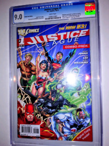 Justice League New 52 #1 CGC 9.0