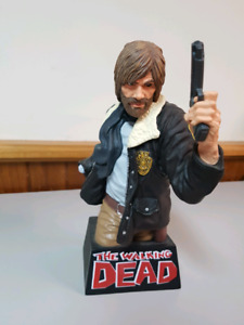 Rick grimes walking dead coin bank
