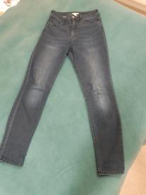 H&M blue denim jeans EU 38
