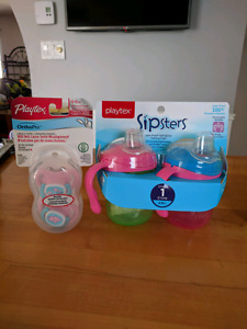 Playtex sipsters and pacifiers