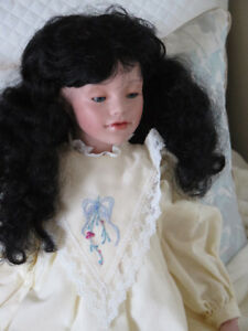 "1991 ALICIA 24"" Doll - Poupée - Elke Hutchens Elke's Originals"