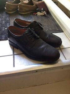 Venturini Leather Dress Shoes