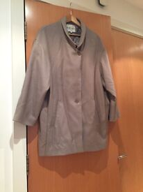 Reiss grey coat