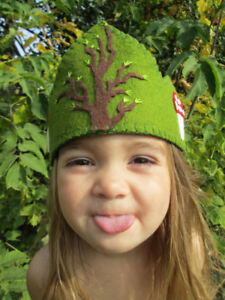 wool felt crowns, one size fits all