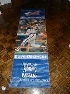 Doug DeCinces Orioles LA Angels HUGE vinyl stadium banner MLB