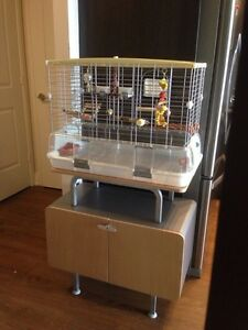 Bird Cage Like New with toys food accessories and much more...