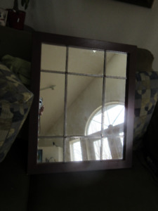 Accent mirror - Measures approx  18.5 x 22.5