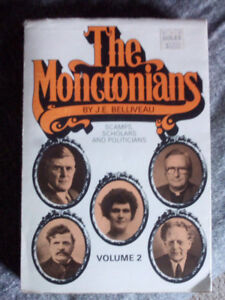 Soft cover book the monctonians also Hard cover book canada home