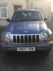 Jeep Cherokee 2.8 CRD SPORT 4WD, MOT until 20th May 2017, Fully Automatic gearbox, Ideal for winter