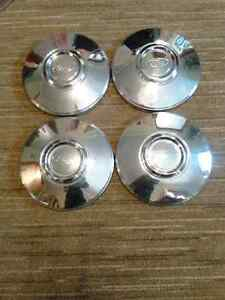 Set of Four Vintage Ford Hub Caps
