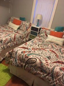 Double bedding sets - $80 each or $150 both  Regina Regina Area image 1