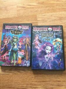 2 Monster High DVDs