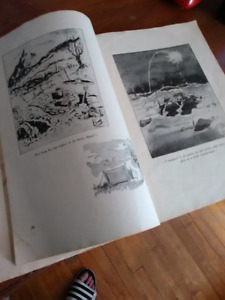 1944 Italy amry book dont know alot about it make offer