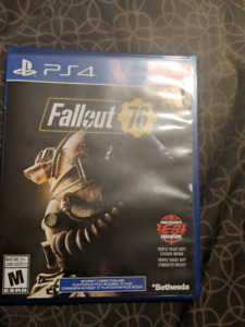 Fallout 76 PS4-35$