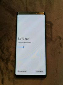 Samsung Galaxy Note9 SM-N960 - 128GB Midnight Black Unlocked Dual Sim