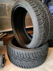 "18"" Winter Tires 245/35"