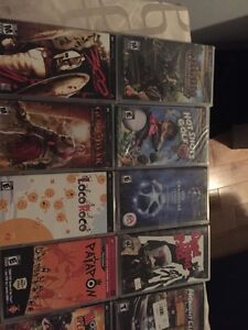 14 great psp games 60$