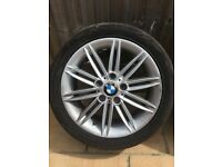 3 x BMW 1 series m sport alloys